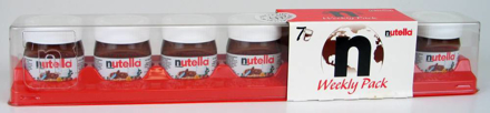 Picture of Nutella Weekly 7x30g, 210g