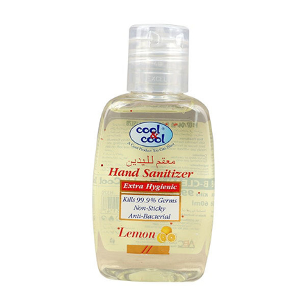 Picture of COOL&COOL LEMON HAND SANITIZER 60ML