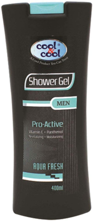 Picture of COOL&COOL SHOWER GEL PRO-ACTIVE AQUA FRESH 400ML