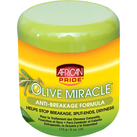 Picture of AFRICAN PRIDE OLIVE MIRACLE ANTI-BREAKAGE 170G