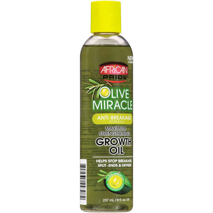 Picture of AFRICAN PRIDE OLIVE MIRACLE GROWTH OIL 237ML