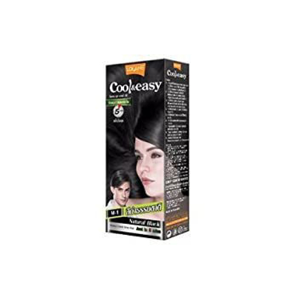 Picture of M-1 LOLANE Cool and Easy Cover Hair Cream Color Natural Black