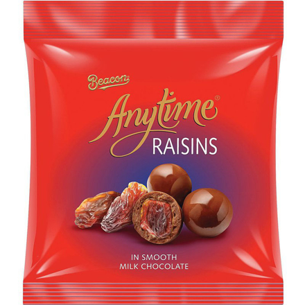 Picture of BEACON ANYTIME CHOCOLATE RAISINS 180G