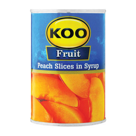 Picture of KOO FRUIT PEACH SLICES IN SYRUP 410G