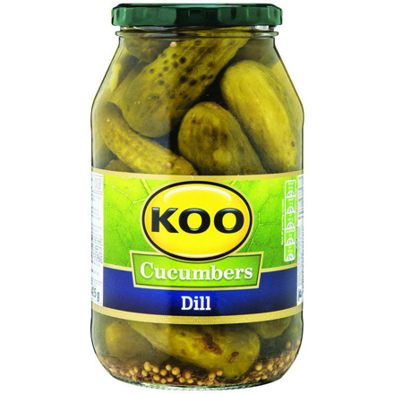 Picture of KOO CUCUMBERS DILL 750G