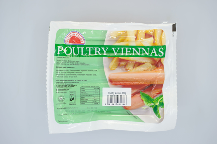 Picture of FARMER'S CHOICE POULTRY VIENNAS 500G