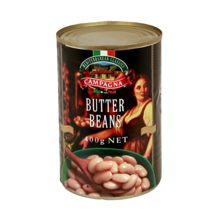 Picture of CAMPAGNA BUTTER BEANS 400G