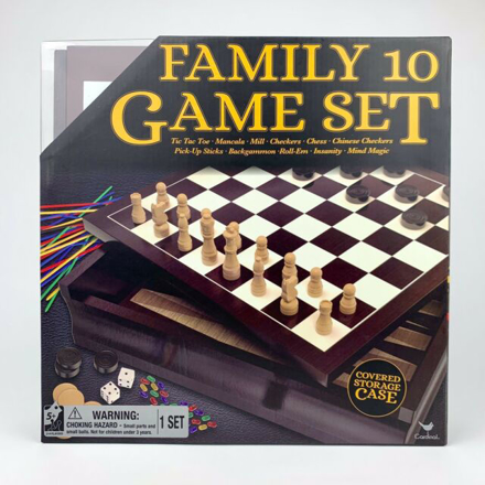 Picture of WOODEN BOARD CHESS CHECKER SET