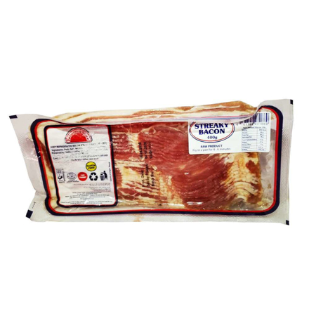 Picture of FARMER'S CHOICE STREAKY BACON 400G