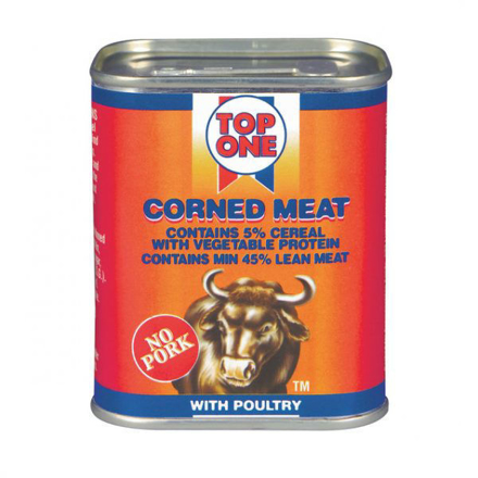 Picture of TOP ONE CORNED MEAT 300G