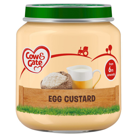 Picture of COW & GATE 6M EGG CUSTARD 125G