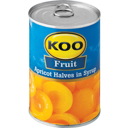 Picture of Koo Apricot Halves in Syrup