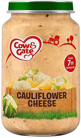 Picture of COW & GATE FROM 7M CAULIFLOWER CHEESE 200G