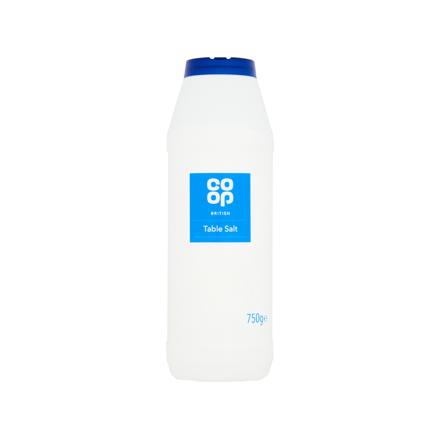 Picture of CO OP BRITISH TABLE SALT 750G
