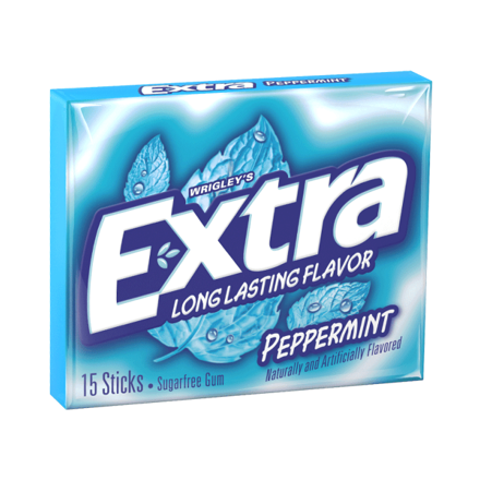 Picture of EXTRA PEPPERMINT LONG LASTING FLAVOR
