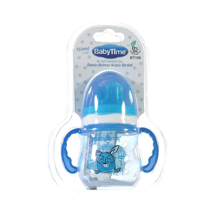 Picture of BT106 BABYTIME NO-SPILL HANDLED CUP 150ML