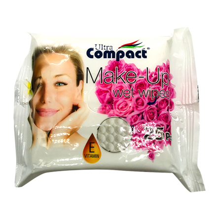 Picture of COMPACT MAKE-UP WIPES 25PCS