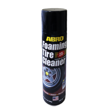 Picture of ABRO FOAMING TIRE CLEANER 595GM