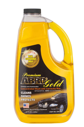 Picture of ABRO GOLD CLEANS SHINES PROTECTS 1.89L CW-990
