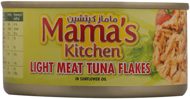 Picture of MAMAS KITCHEN LIGHT MEAT TUNA FLAKES 185G