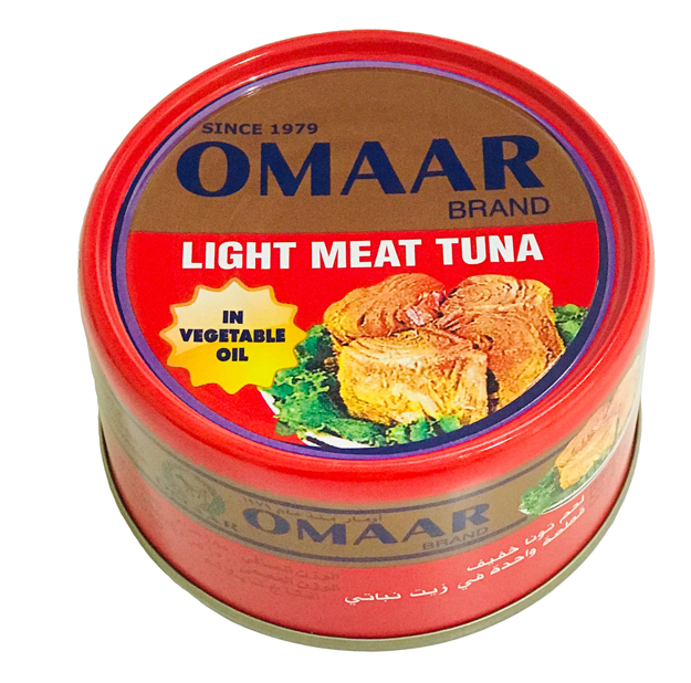 Picture of OMAR LIGHT MEAT TUNA 200GM