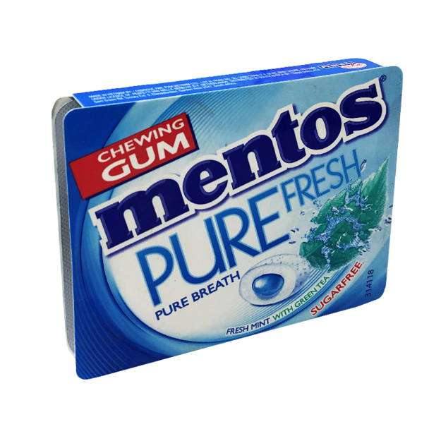 Picture of MENTOS PURE FRESH MINT WITH GREEN TEA 8PCS 14G