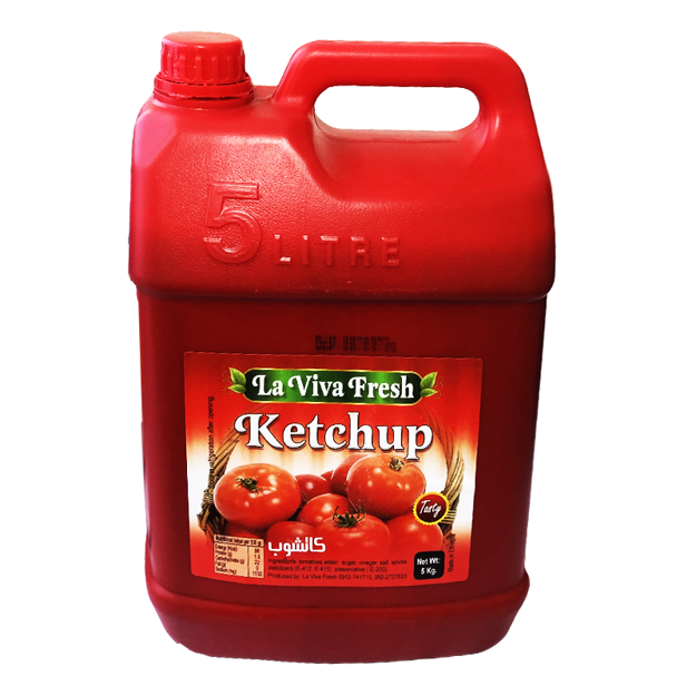 Picture of LAVIVA FRESH KETCHUP 5KG