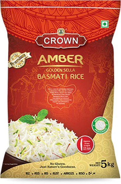 Picture of AMBER GOLDEN BASMATI RICE 5KG