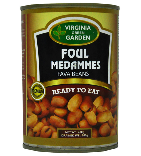 Picture of VIRGINIA GREEN FOUL MEDAMMES FAVA BEANS 400G