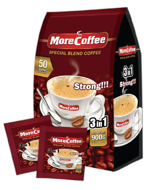 Picture of MORE COFFEE 3IN1 STRONG