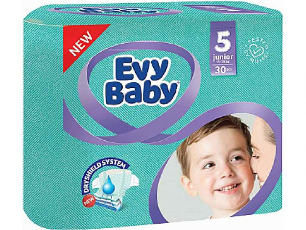 Picture of EVY BABY 5 JUNIOR 11-25KG 30PCS