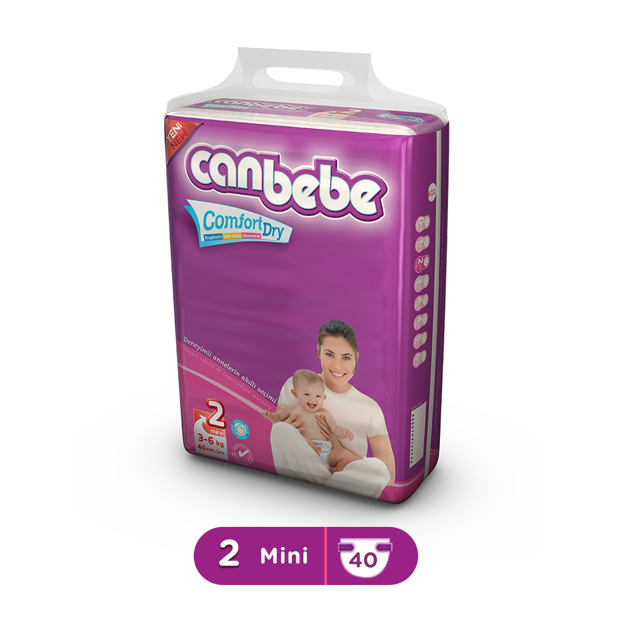 Picture of CANBEBE MINI 3-6KG 40PCS