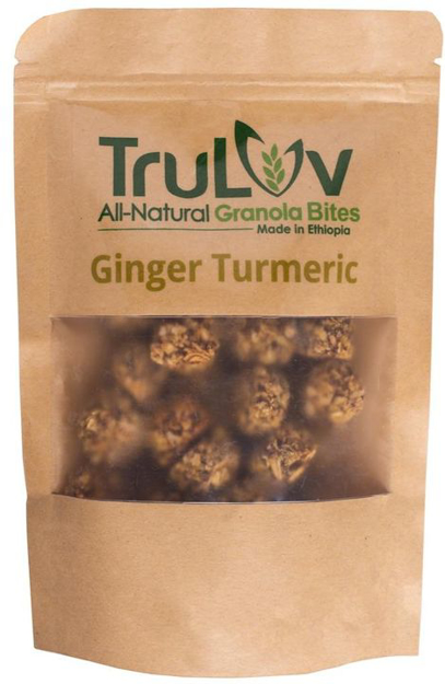 Picture of TRULUV ALL-NATURAL GRANOLA BITES GINGER TURMERIC
