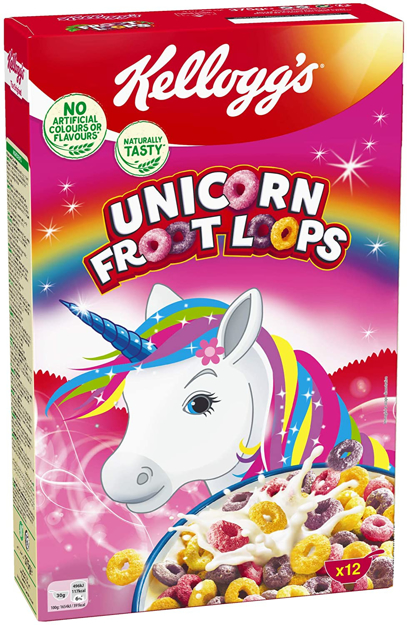 Picture of KELLOGG'S UNICORN FROOT LOOPS 375G