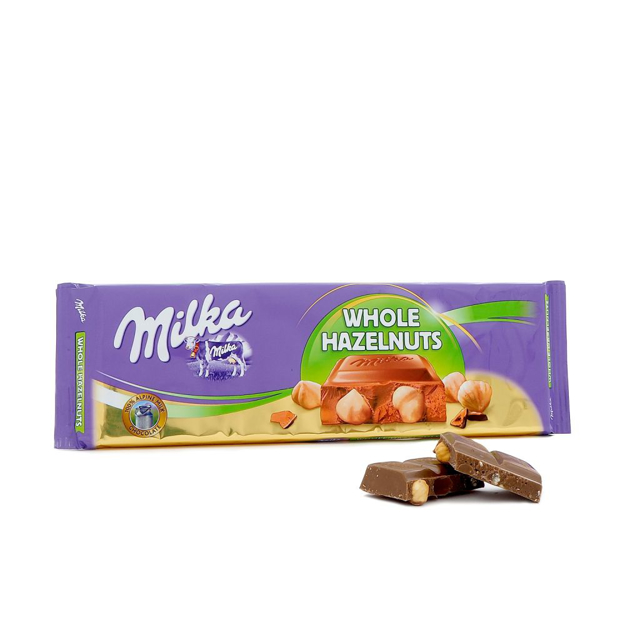 Picture of MILKA WHOLE HAZELNUTS 270G