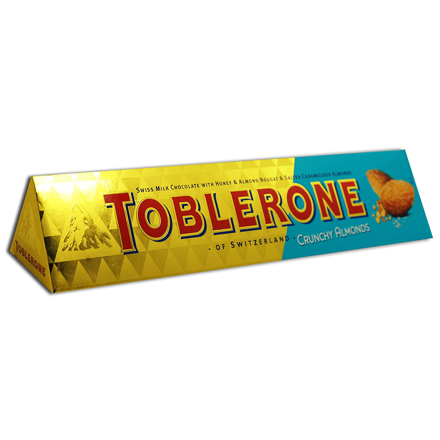 Picture of TOBLERONE CRUNCHY ALMOND 360G