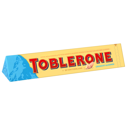 Picture of TOBLERONE CRUNCHY ALMONDS 100G