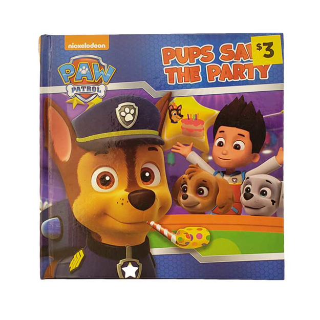 Picture of PAW PATROL -PUPS SAVE THE PARTY ASSTD LICENSED STORY BOOK ASSTD LICENCE STORY BOOK