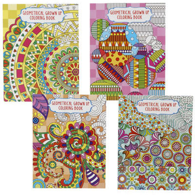 Picture of GEOMETRIC COLORING BOOK