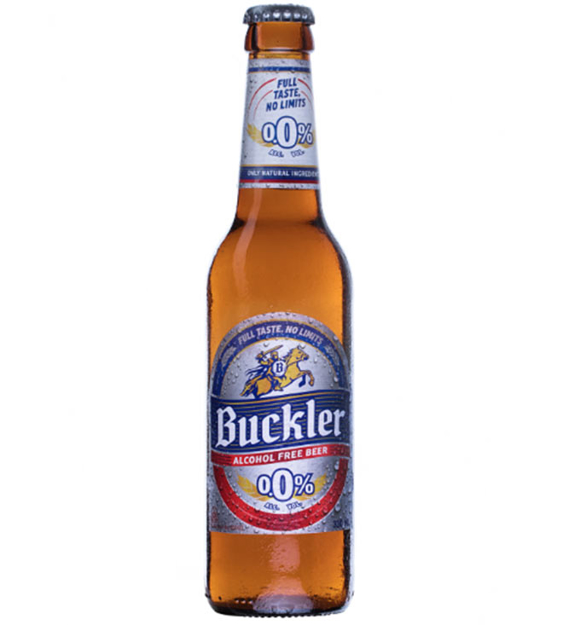 Picture of BUCKLER 0.0% RB Crate 24x33cl XLN ET