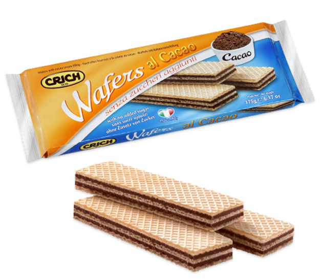 Picture of WAFERS WITH COCOA SUGER FREE 175G