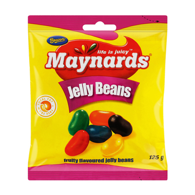 Picture of BEACON MAYNARDS JELLY BEANS 125G
