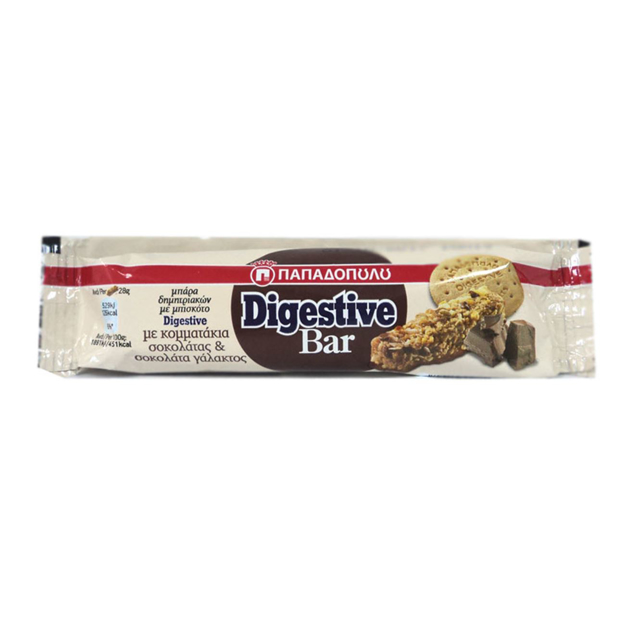 Picture of PAPADOPOULOS DIGESTIVE BAR 28G