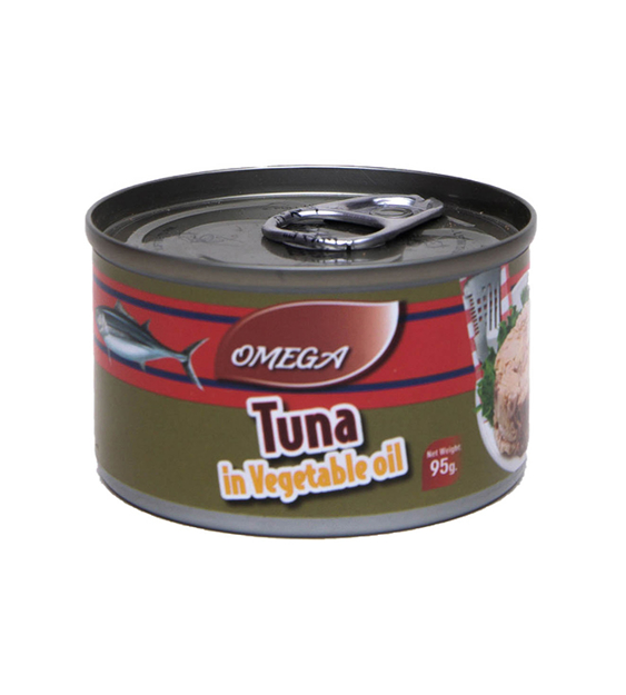 Picture of OMEGA IN SOYA OIL TUNA 95G