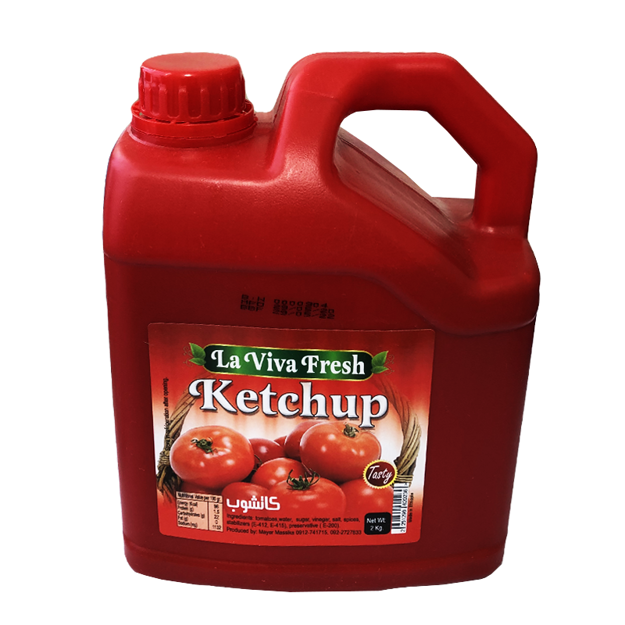 Picture of LAVIVA FRESH KETCHUP 2KG